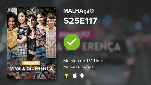 I've just watched episode S25E117 of Malhação! #malhao  https://t.co/u...