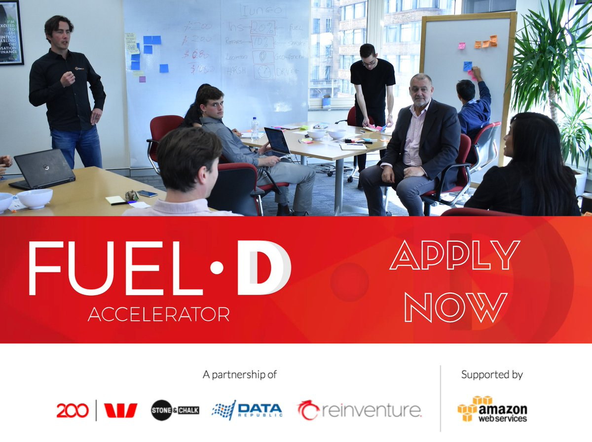 This week we met some amazing #startups. If you want to scale your #data startup, we want to hear from you. @FueldAU https://t.co/9XXP23Ihmi