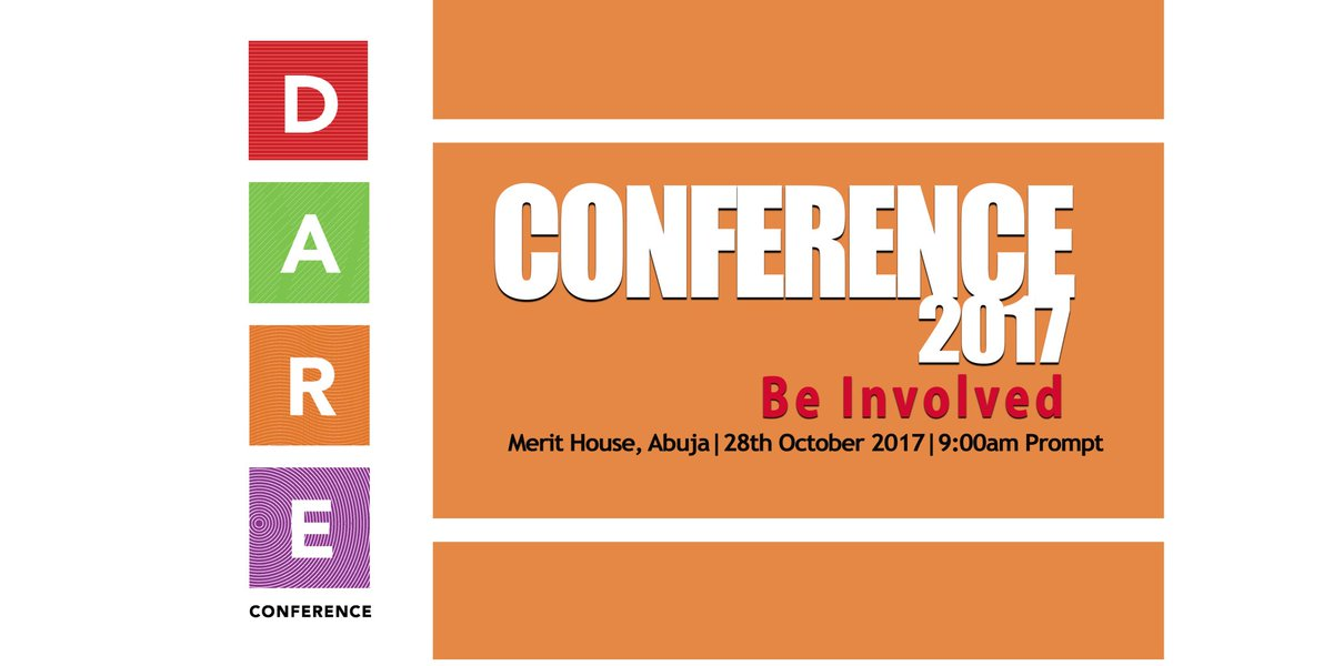 We&#39;ll have amazing speakers share inspiring stories at the DARE #conference, don&#39;t miss this experience #DARENigeria  @EUinNigeria<br>http://pic.twitter.com/TyuD3qUj4j