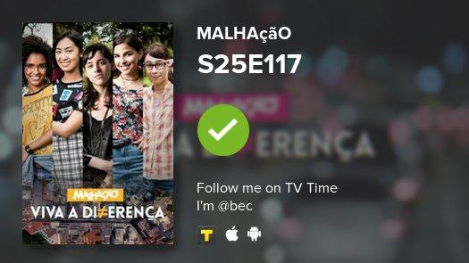 I've just watched episode S25E117 of Malhação! https://t.co/XSWxEBaBNJ...