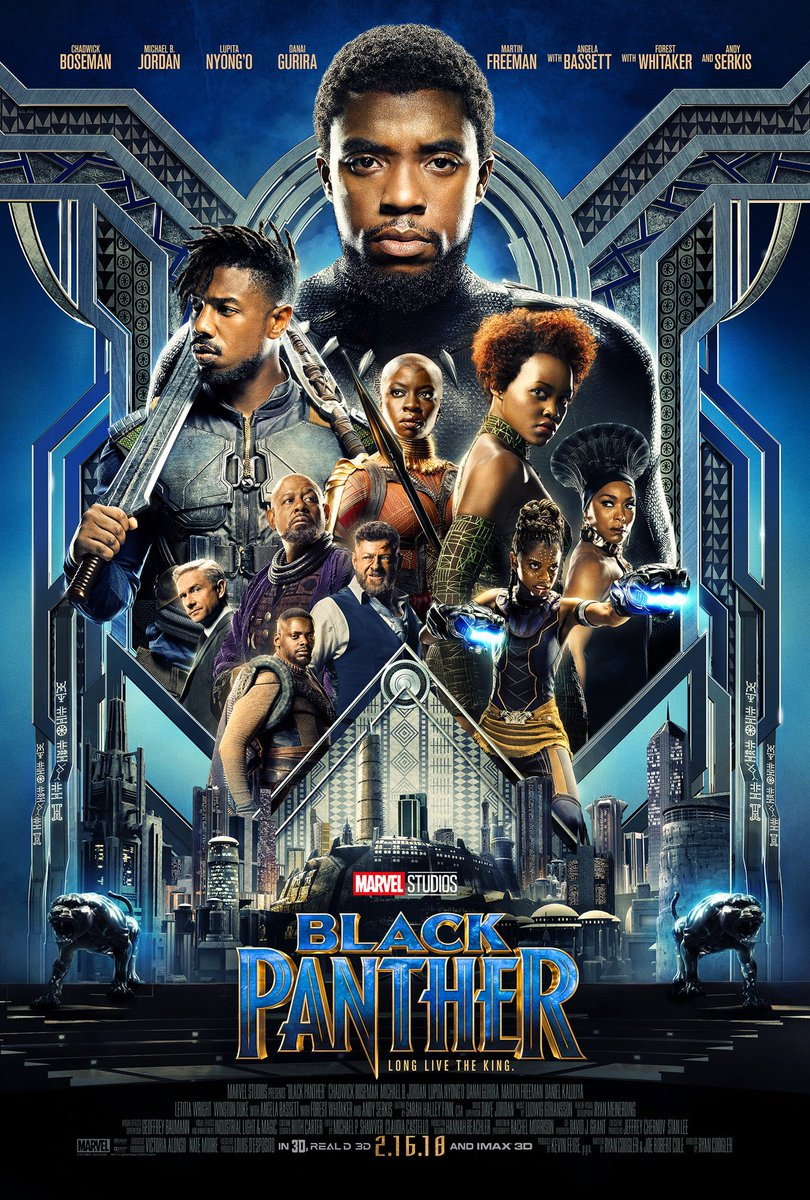 Black Panther 2018 Movie Official Trailer