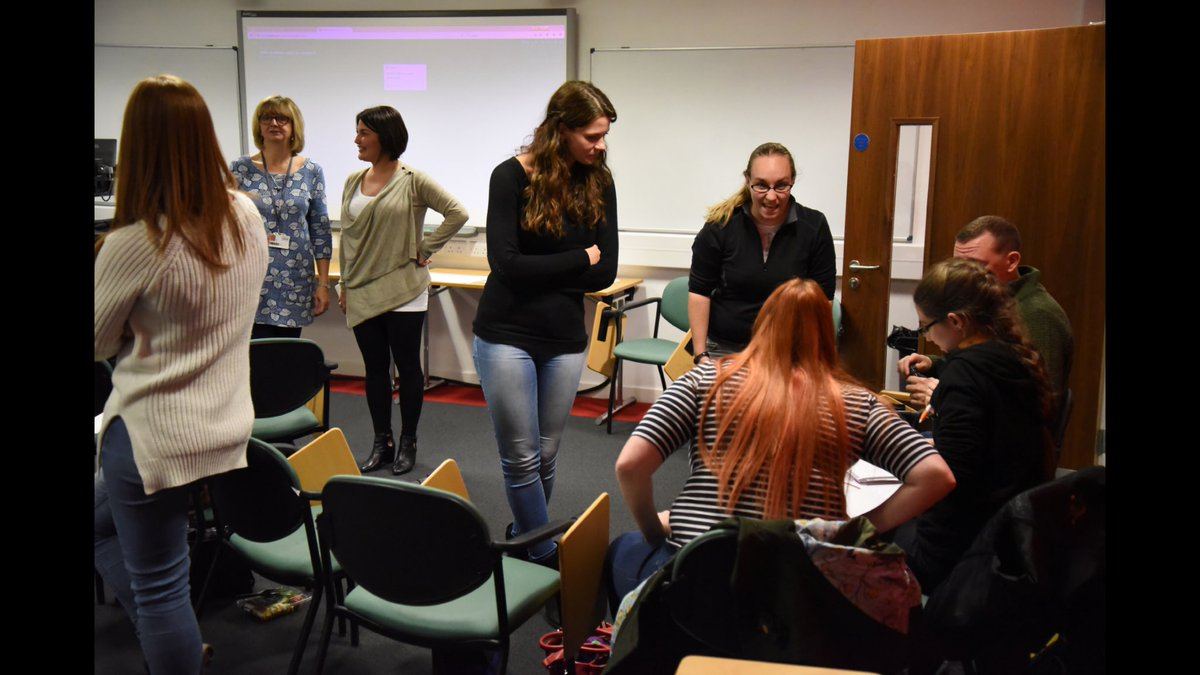 We welcomed our #postgraduate #research #students #PGRs @UoS_HSPGR @HSRC_Research at 1st #PGRseminar series in 2017-18 what a great bunch!<br>http://pic.twitter.com/BaTaUsMs84