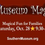 It's time to make some magic! Head to @SouthernMuseum on 10/28 for a day of magic that will inspire the family. https://t.co/I0ifdPw7Ms