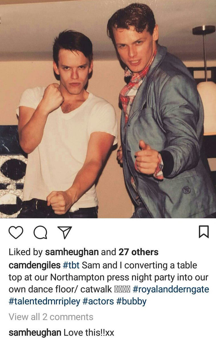 NEW #TBT photo of @SamHeughan during the time he starred the theatre production of The Talented Mr. Ripley!  https://www. instagram.com/p/BacoXA4HGQP/  &nbsp;  <br>http://pic.twitter.com/JipKZzQVSq