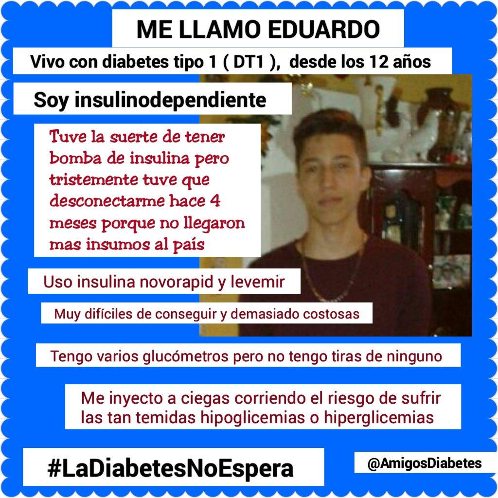 tengo 13 años tengo diabetes