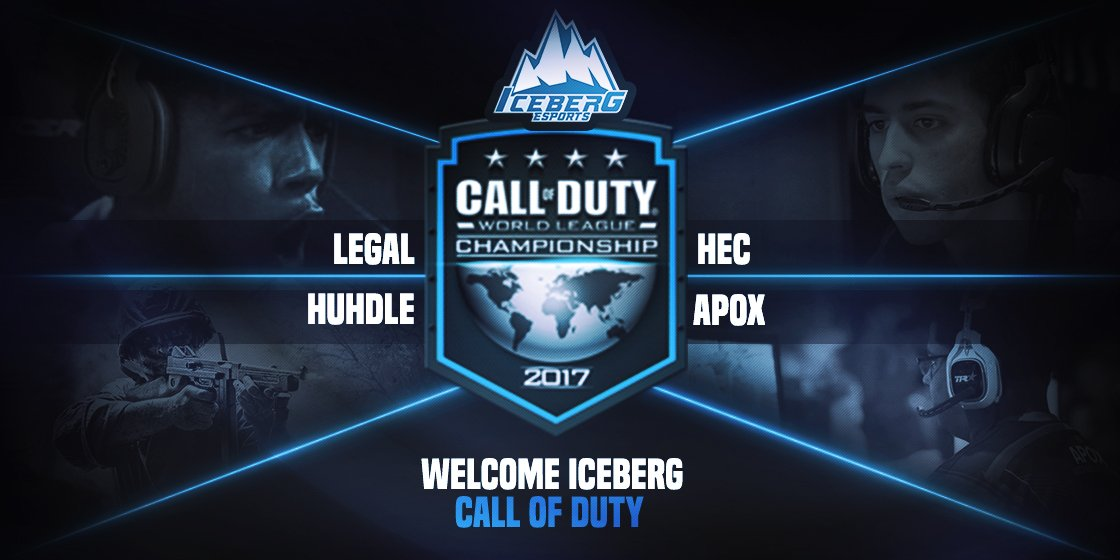 CALL OF DUTY MEET ICEBERG, AND WELCOME @Huhdle @MikeApox @TyreeLegal  @HectheDon #CoDWWII   #ICEFAM #CWL #WW2 #callofduty #Iceberg #Welcome <br>http://pic.twitter.com/BHLeQQ0HAQ