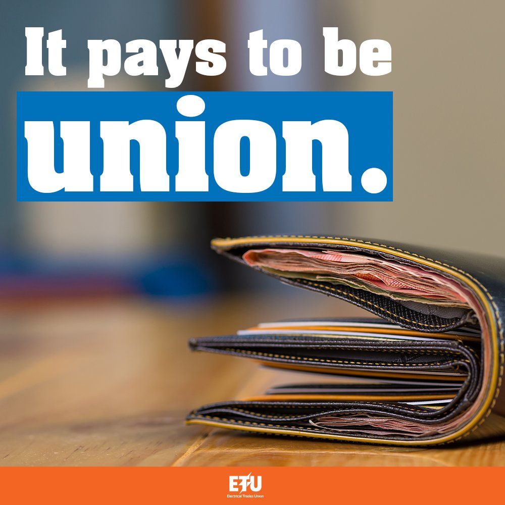 When you&#39;re union, you&#39;re on the side of fairer wages every day. RT if you&#39;re proud to be union! #joinus #proudtobeunion #ausunions<br>http://pic.twitter.com/UBzbv69Fa4