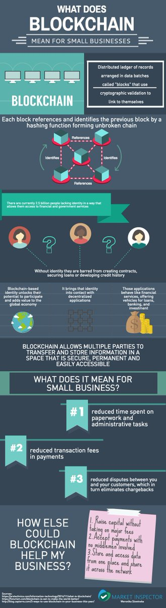 What does #Blockchain mean for Small #Businesses?  #fintech #CyberSecurity #DLT #Crypto #Insurtech #infosec #bitcoin  http://www. sitepronews.com/2017/06/05/wha t-does-blockchain-mean-for-small-businesses/ &nbsp; … <br>http://pic.twitter.com/uVwOrBwuiZ
