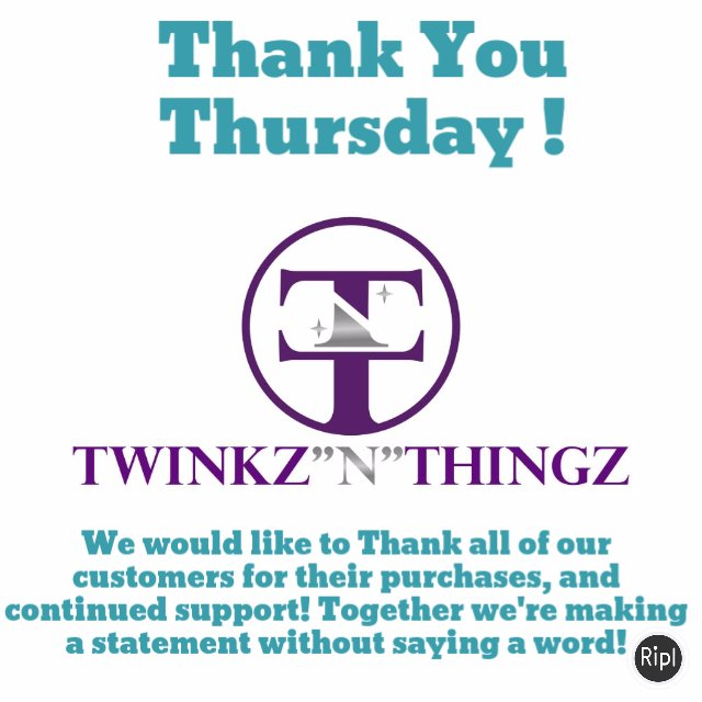 We just want to Thank everyone for their purchases!#ThankyouThursday v...