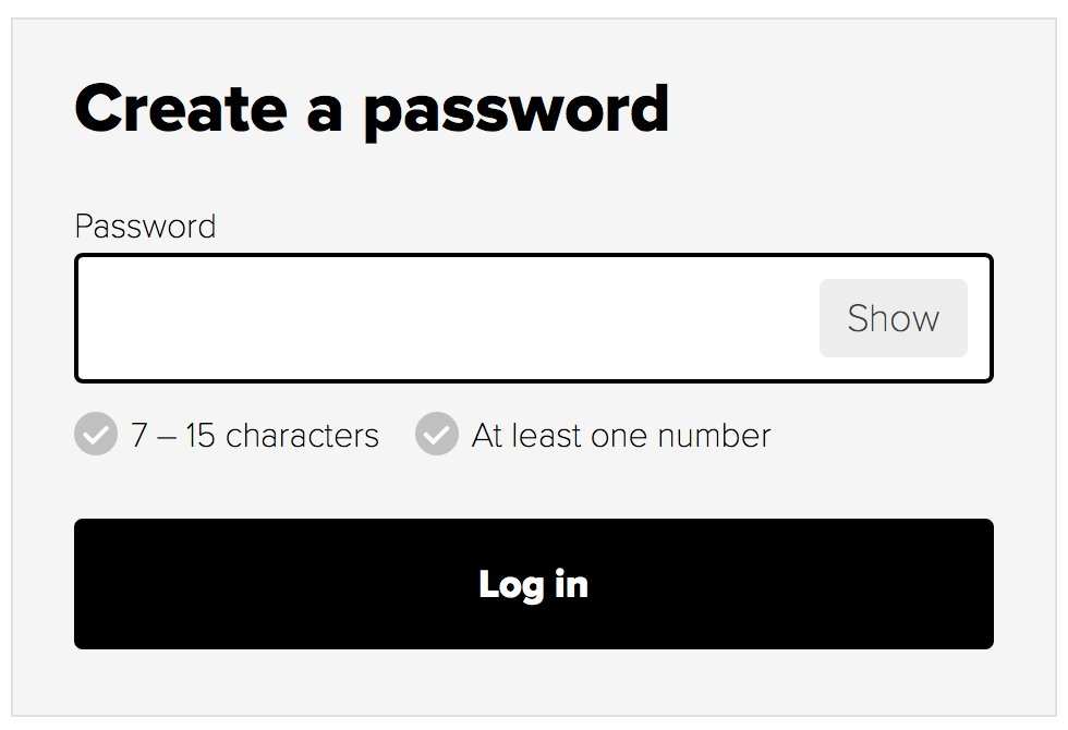 This is not how you do passwords @ahmhealth. Why is there an upper limit on passwords. You&#39;re not storing them are you? #bad #infosec <br>http://pic.twitter.com/QAwnPy1OwX