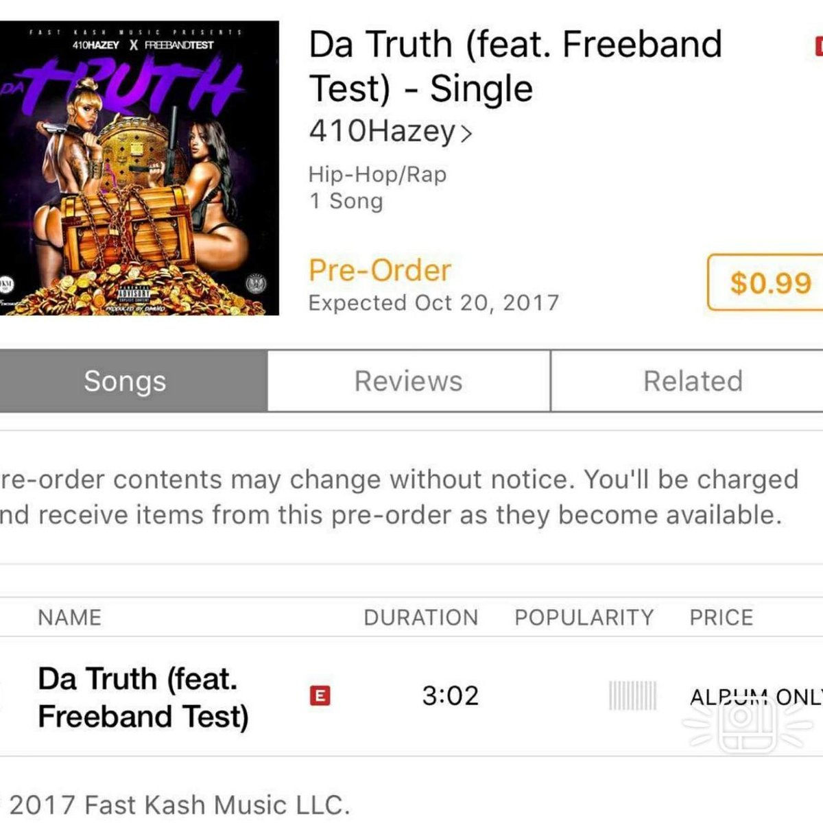 3 hours left to preorder. Be sure to grab a copy. @410Hazey @NoneRealAThanI @Yaggabandz @Dherbo_fkm #fkm #NewMusicFriday #music #hiphop <br>http://pic.twitter.com/VXhzeg6OpU
