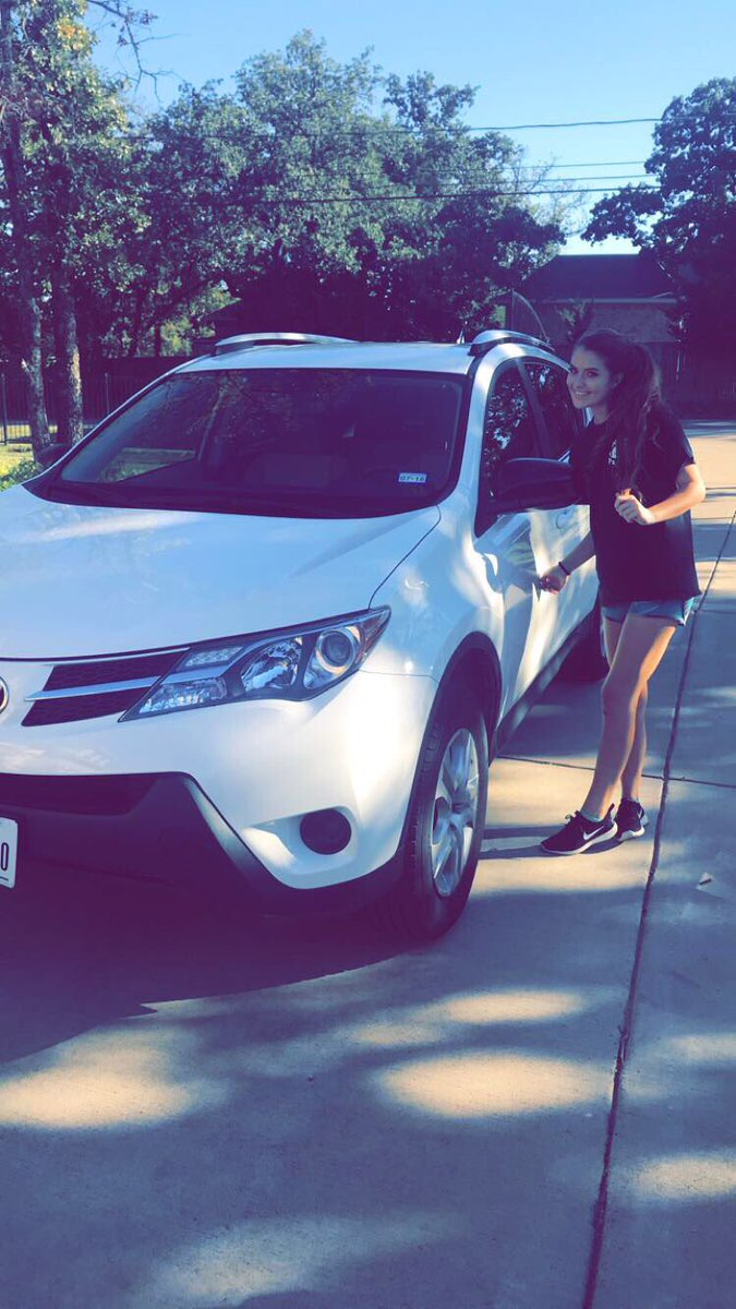 first car!!!!! my parents really do love me. #blessed  <br>http://pic.twitter.com/PNmOy78joO