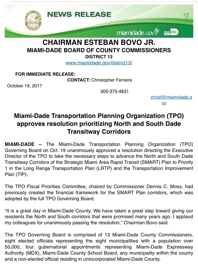 Miami-Dade Board of County Commissioners on Twitter