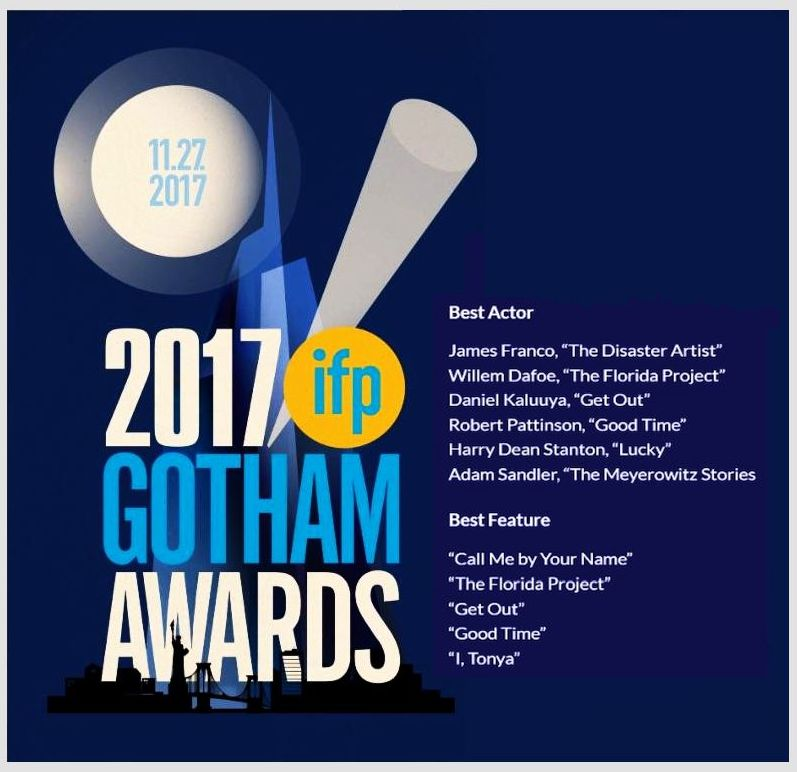Robert Pattinson nominated as Best Actor &amp; #GoodTime as Best Feature at the Gotham Awards today. So much talent!!  https:// tmblr.co/Zapulu2R91La9  &nbsp;  <br>http://pic.twitter.com/DKp2CvKPgL