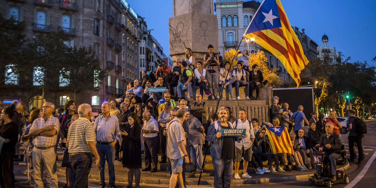 Spain and its rebellious Catalan region are hurtling toward a revolutionary showdown https://t.co/Fq20V4rx7V