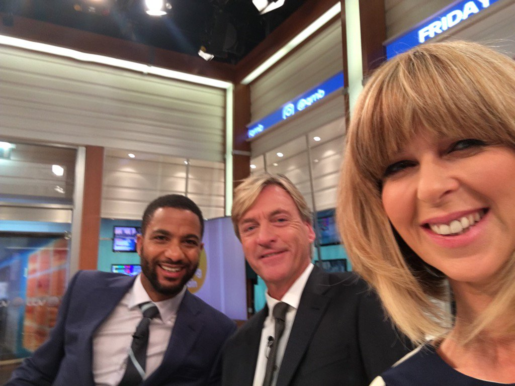 Morning! We've got that #FridayFeeling - come join us !& @alexberesfordTV has latest on the #WeatherBOMB #StormBrian https://t.co/Qqzl0zZ2Om