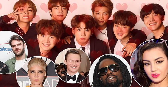 From @Halsey to @AnselElgort, here are 15 famous fans of @BTS_twt: