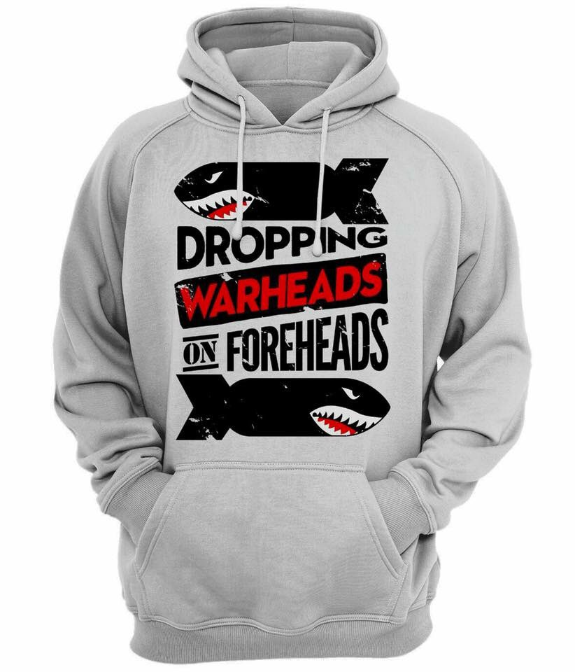 Droppin' warheads on foreheads. Merica....