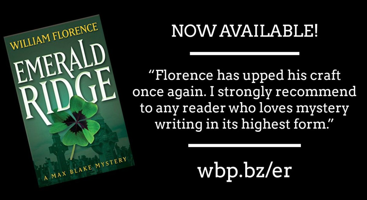 &quot;Author William Florence keeps the pace fast w/ unexpected twists at every turn.&quot; #iartg Read this #thriller today  http:// wbp.bz/er  &nbsp;  <br>http://pic.twitter.com/cZhEIuNQsd