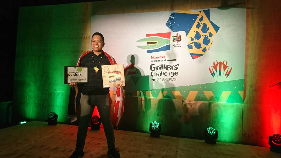 Wan (1 Utama) has been crowned as the International Grillers&#39; Challenge Champion in Johannesburg, South Africa! Our #pride! <br>http://pic.twitter.com/MltPLujugo