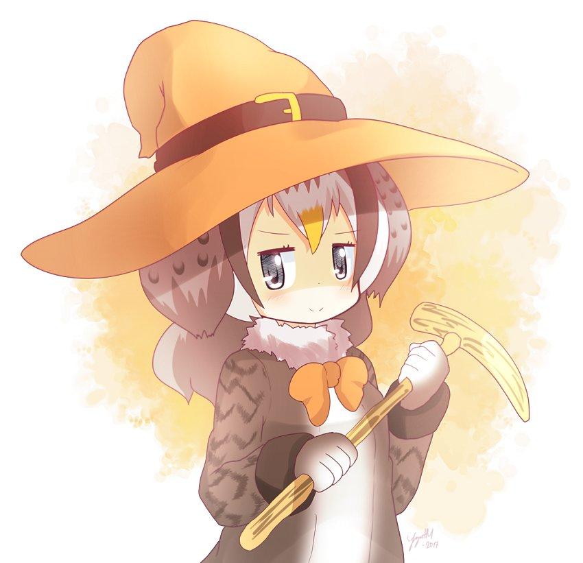 Halloween Kyushu Owl! #けものフレンズ #けもフレ #キュウシュウフクロウ