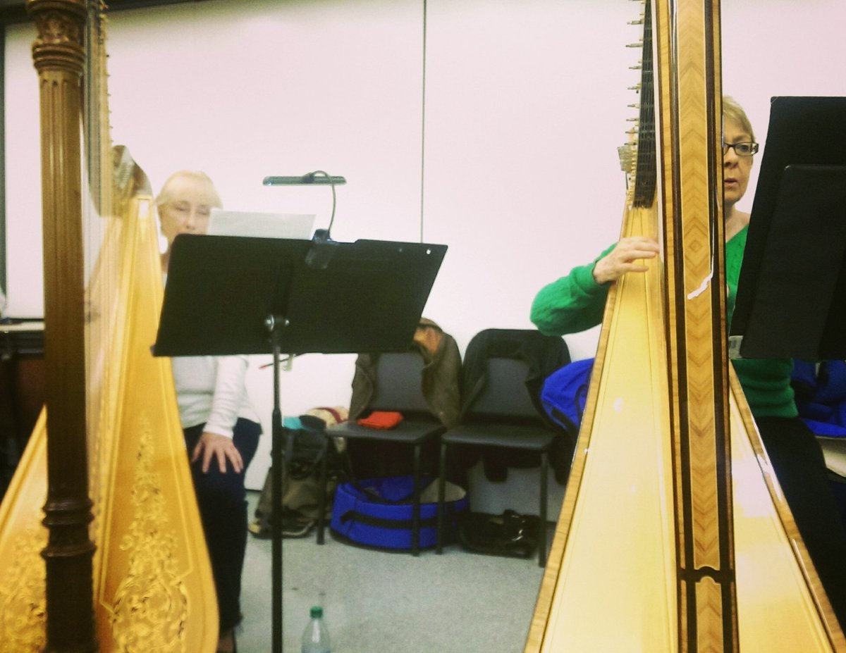 We&#39;re seeing #double for our #concert1 this Saturday at 7:30 PM! Join us to see &amp; hear the beautiful sounds, too! #harps #20thcentury<br>http://pic.twitter.com/86K06nCDHY