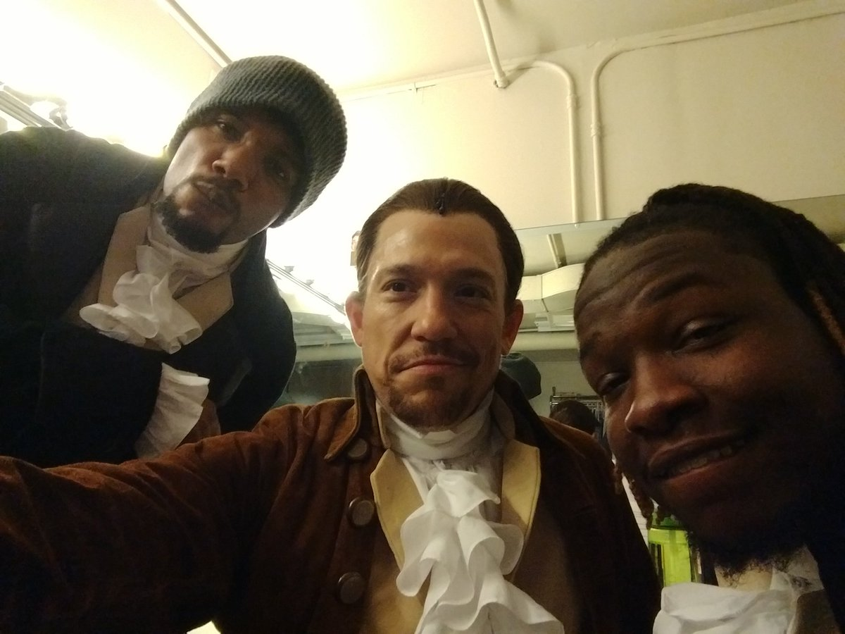One year ago we opened #HamiltonCHI Over 400 perf 4Burrs 2Angelicas 2Peggys Lots of new faces.  Time flies.  Enjoy every day.  #blessed <br>http://pic.twitter.com/zQKW4g5gat