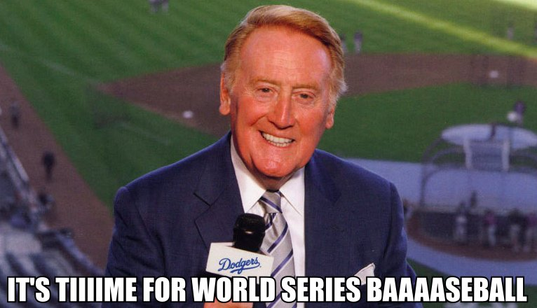 It&#39;s time! #Dodgers #WorldSeries <br>http://pic.twitter.com/LcwdApv9wX