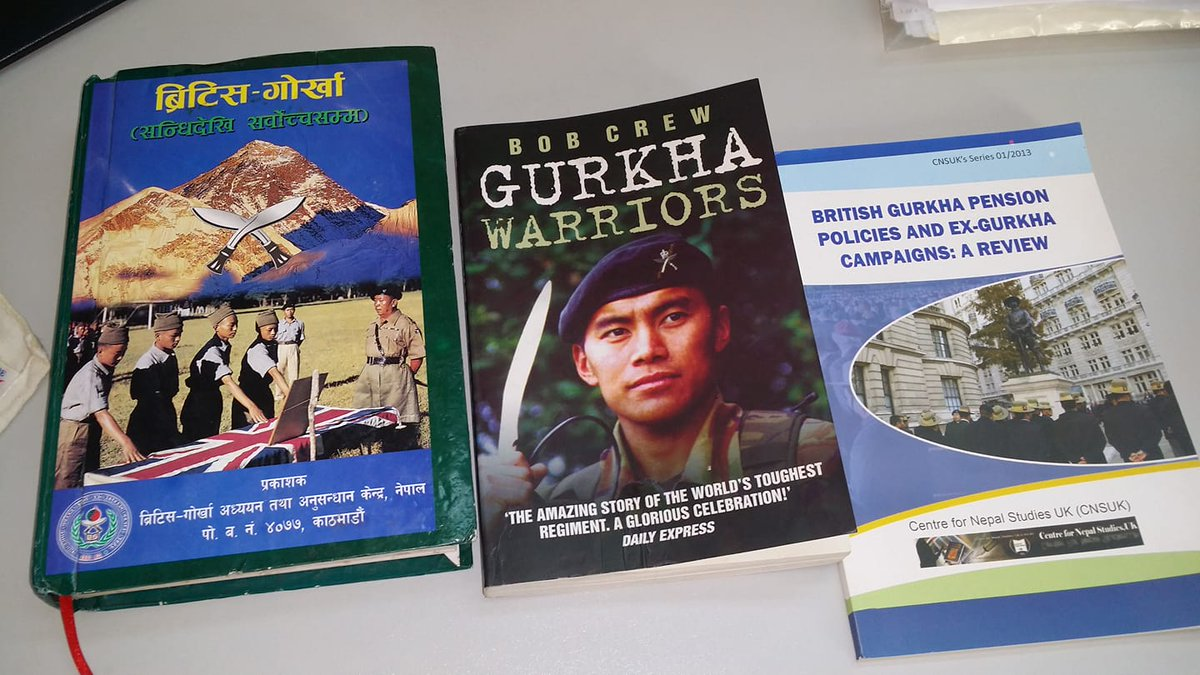 More books to read......  #gurkhas #nepal #british #indian #ARMY<br>http://pic.twitter.com/grxwwDmkNH