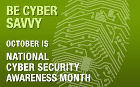 October is #cybersecurity awareness month. Tune in to @starfm101_5 Lagos this morning 5.30-6 as we discuss #cyberbullying. Be #CyberAware<br>http://pic.twitter.com/EG8wiqrYrZ