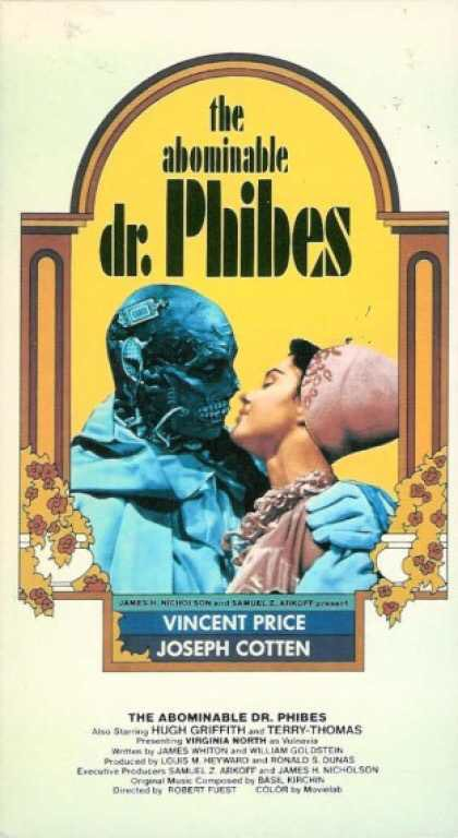 31 Days Of Horror #19: The Abominable Dr. Phibes.  A doctor, scientist, organist, and biblical scholar, Anton Phibes, seeks revenge on the nine doctors he considers responsible for his wife&#39;s death.  #Trickortreat #Halloween #HorrorMovies #Horror #Podcasts #October<br>http://pic.twitter.com/NwpxB0mLuz