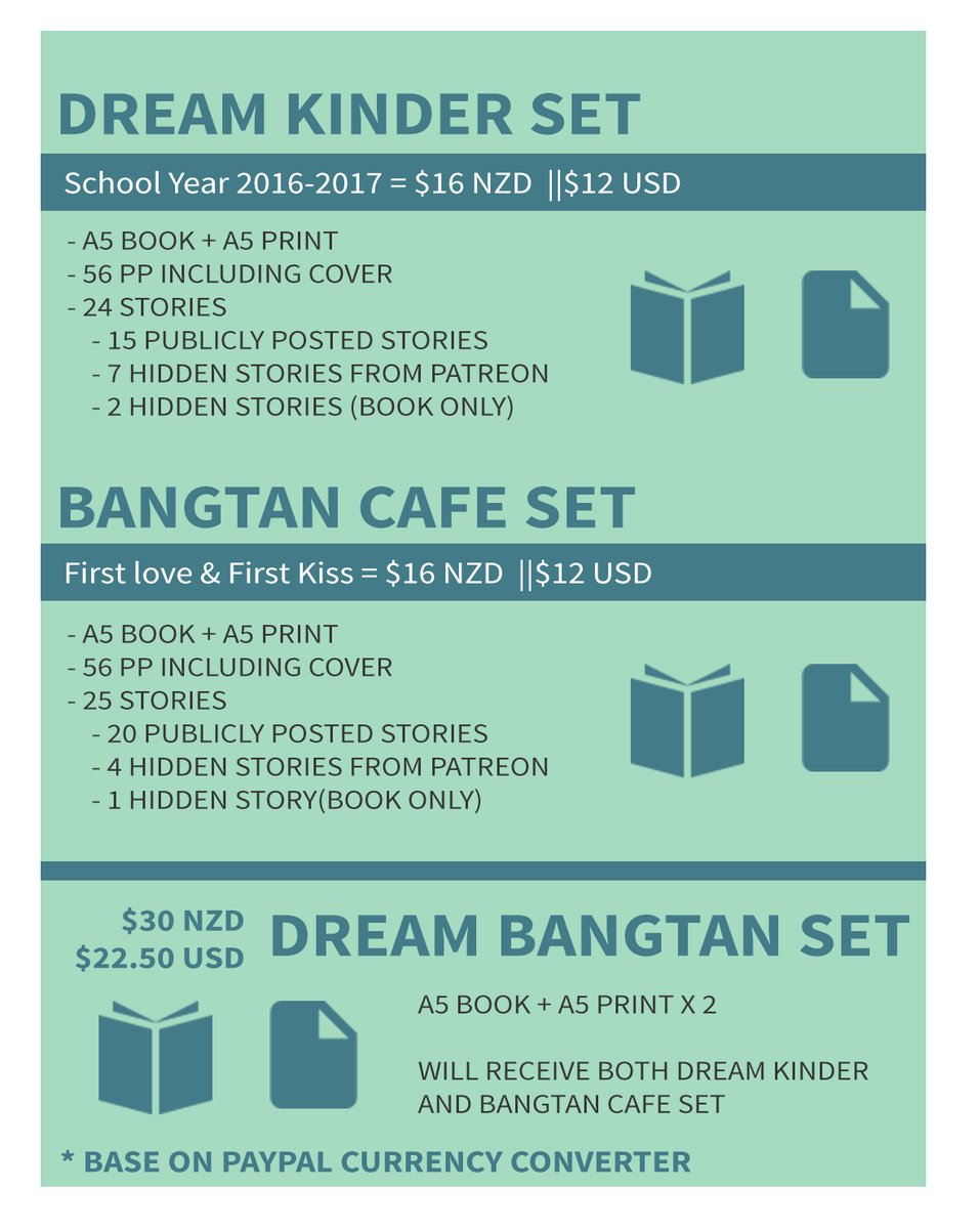 [USA/CAN Group Order] Dream Bangtan by @...