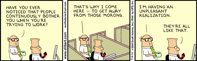 Dilbert couldn&#39;t help but agree with Wally on this one ;) #HR #office #humour #Friday #BecauseItsFriday #Dilbert<br>http://pic.twitter.com/stc0Lg5HBZ