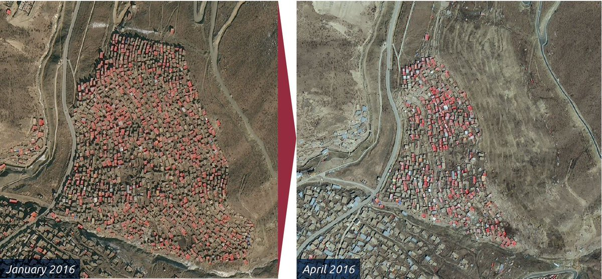 #FreeTibet #PressRelease - Report: Satellite images show huge scale of damage to #Tibetan #Buddhist site #LarungGar  http:// ow.ly/mNV130fZJfs  &nbsp;  <br>http://pic.twitter.com/JG31wTmYoU