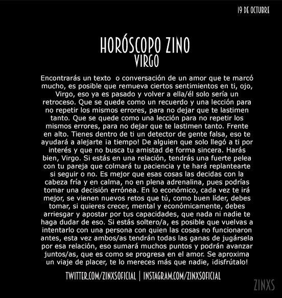 Llegó el #HoróZcopo CARAJO!! #HoróscopoZ...