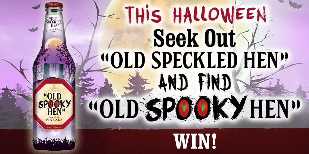 #WIN with @speckledhenry!   For your chance to WIN a case of Old Spooky Hen, simply RT &amp; Follow @myLondis #FreebieFriday #Halloween  <br>http://pic.twitter.com/EKAAeRvukp