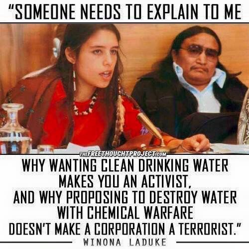 &quot;Someone needs to explain to me why wanting clean water makes you an activist&quot; ~Winona LaDuke  #ActOnClimate #cdnpoli #NoKXL #StopKM #divest <br>http://pic.twitter.com/PZ0fW9mcFw