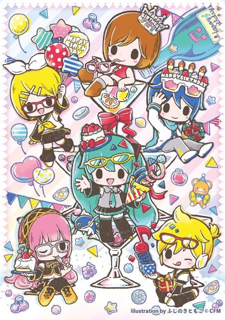 11月9日(木)よりアニメイトさんで発売されるMEIKO13周年グッズ用イラスト...