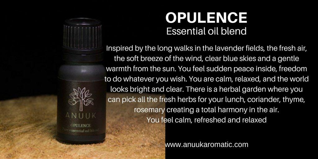 Opulence essential oil blend. Refreshing and revitalising  https:// anuukaromatic.com  &nbsp;   #fresh #fragrance<br>http://pic.twitter.com/WFLesicg9V