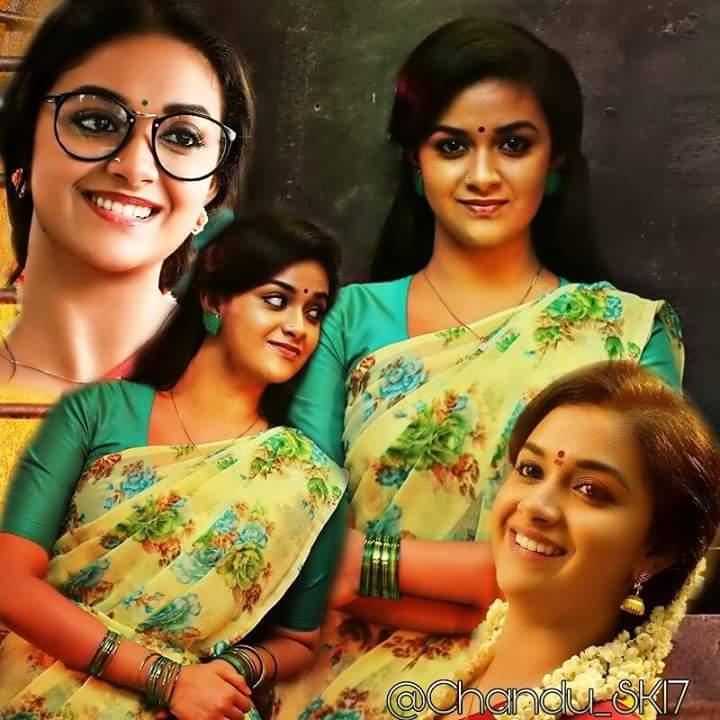 #Awesome looking    Angel #KeerthySuresh  @KeerthyOfficial<br>http://pic.twitter.com/oQ1u03Cmvt