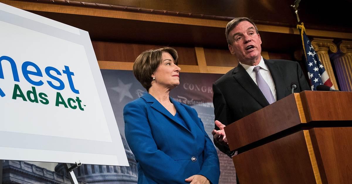 Senators intro bill to reveal political ad buyers on digital platforms https://t.co/49rT2DWvon