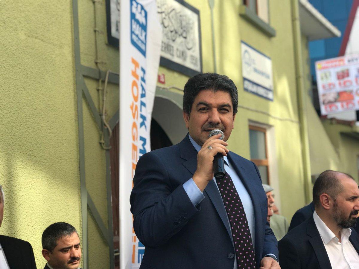 Belediye Başkanımız @mt_goksu Cuma namazı sonrası Havaalanı Mahallesi'...