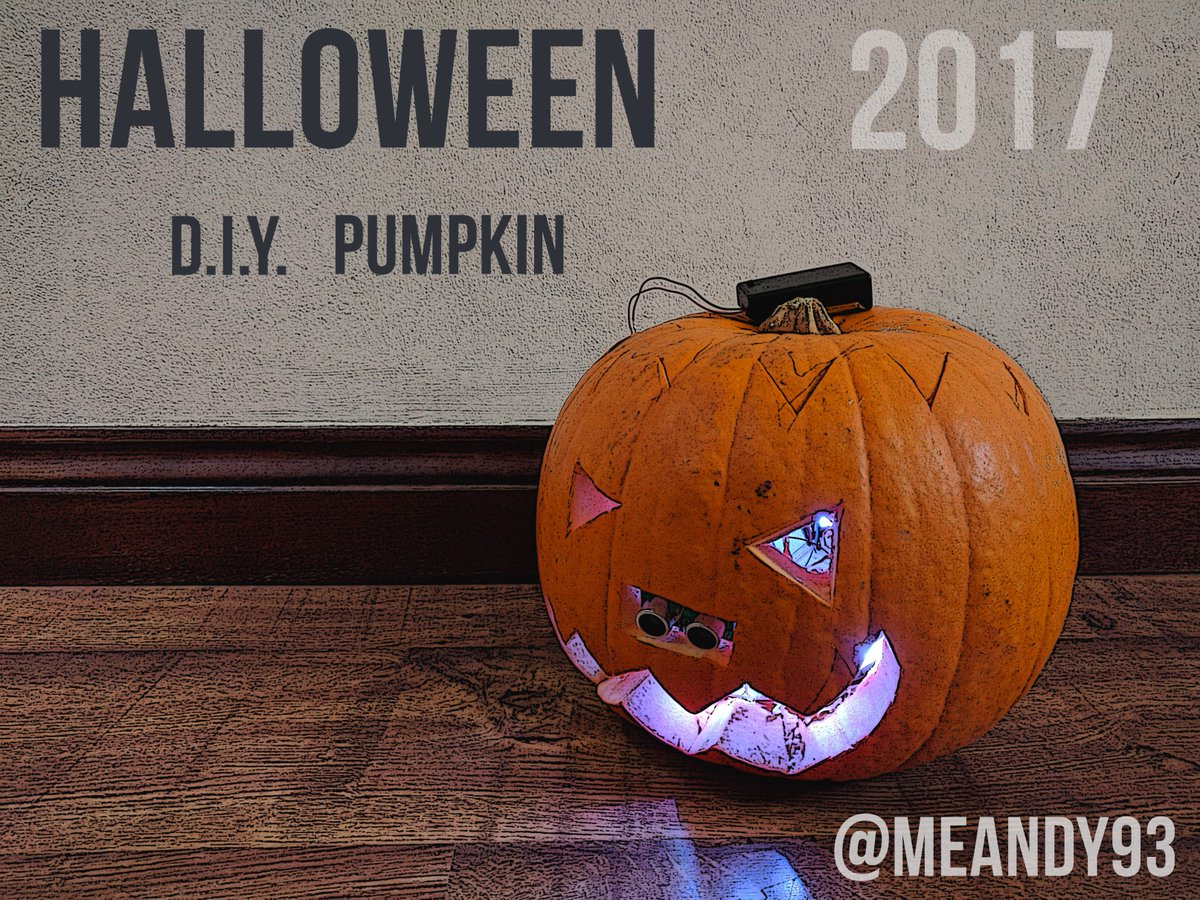 Halloween is getting closer !!!  I have already done my #Interactive pumpkin using #Arduino !! Soon a video Tutorial !  #DIY #Creative<br>http://pic.twitter.com/6qV7eYXhLl