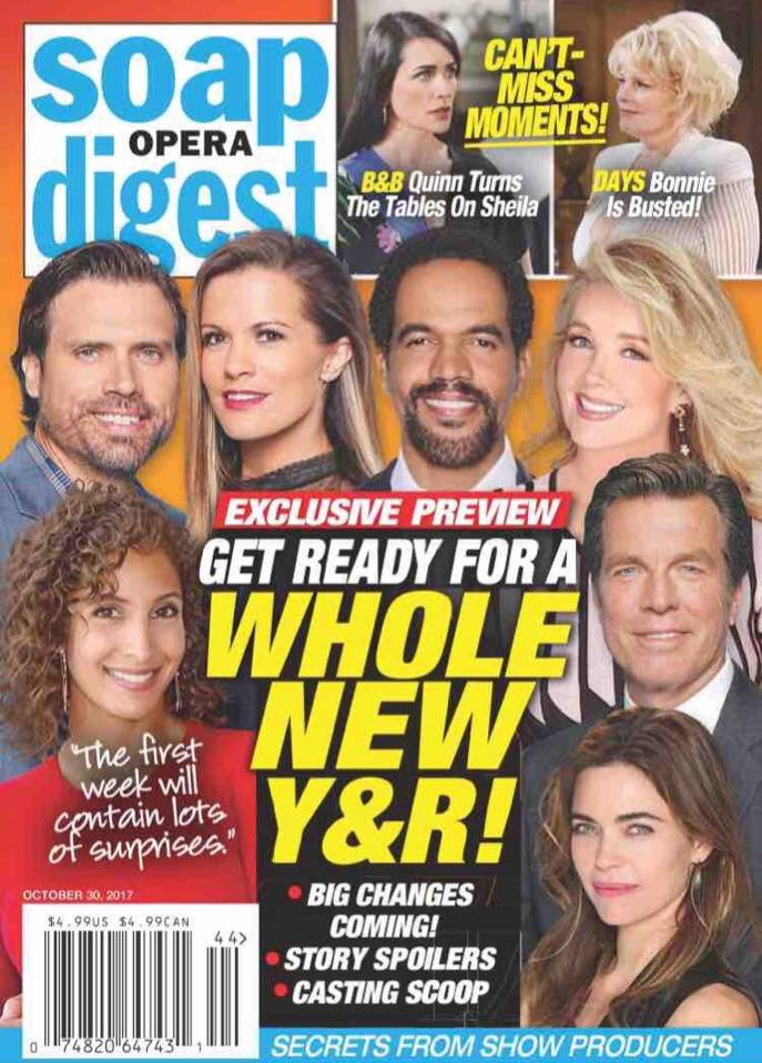 The new Soap Digest cover! #YR #BoldandBeautiful #GH #Days <br>http://pic.twitter.com/WUp0ZYh0V9