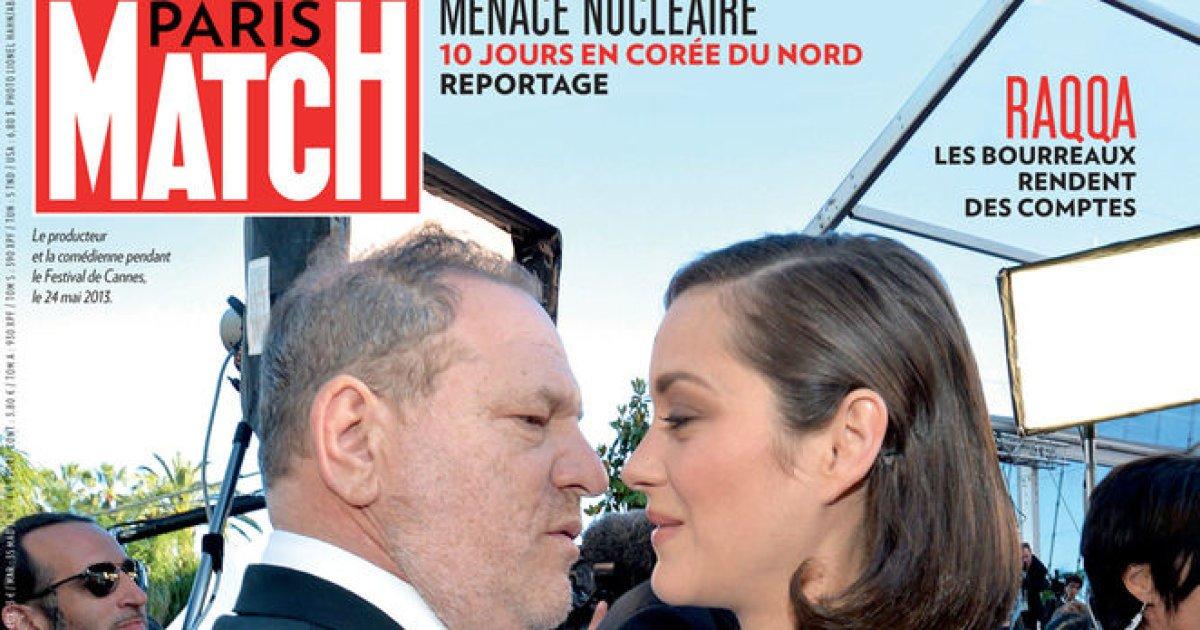 Paris Match lascia che siano Marion Cotillard e questa foto a parlare del caso #Weinstein https://t.co/ulse8GtFqV
