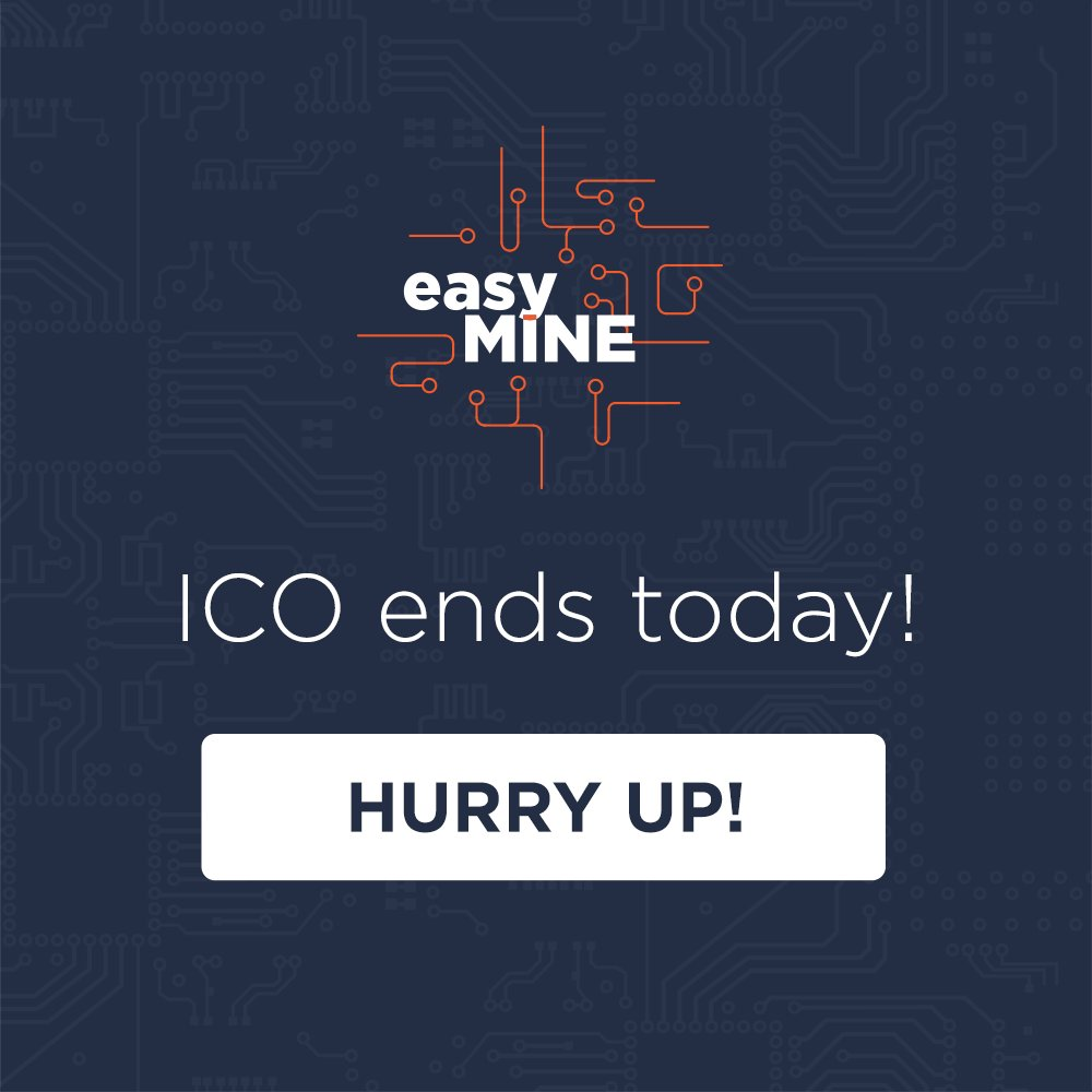 RT @easymineio: Last #chance to get #EMT #tokens!😱😱😱 #BUY NOW👈👈👈👌👌👌 https://t.co/A9IAPelIzX