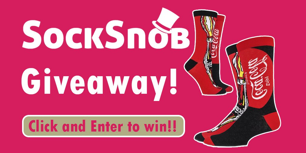 Enter our #Giveaway! Click to #win x4 #CocaCola #Socks:  http:// bit.ly/2nji5x2  &nbsp;   #rt #follow #free #freebie #freebiefriday #comp #fashion<br>http://pic.twitter.com/7AV4ZH2enW