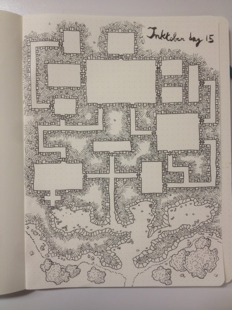 A bit late but still in the game after all. #inktober day 15 #cartography #map @CartoGuild<br>http://pic.twitter.com/fpycl20YGF