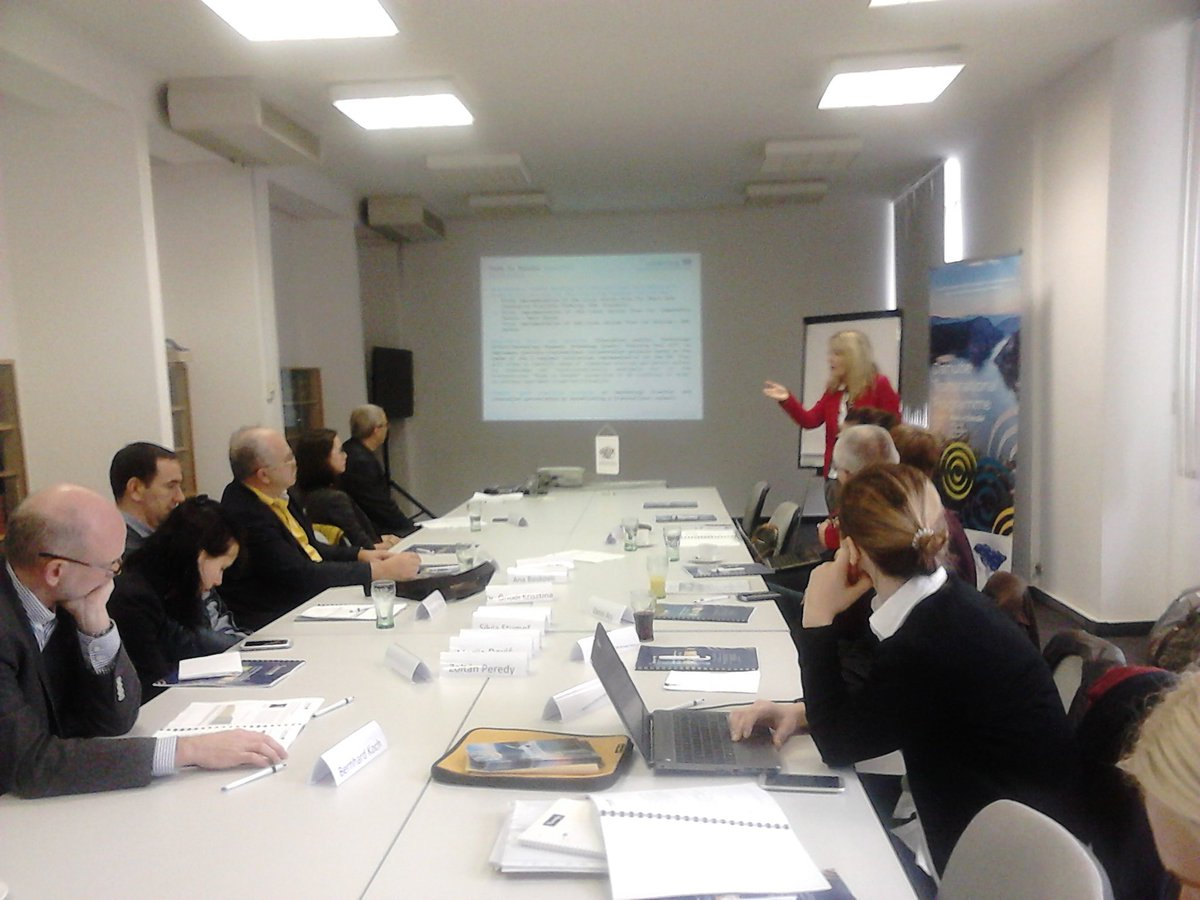 Andrea is taking part on the transnational partnership training in #Budapest in @Made_in_Danube project #bioeconomy #pilot @Interreg_Danube<br>http://pic.twitter.com/sU2WmrFiw4