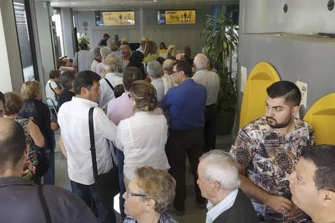 Cajeros de la caixa y banco sabadell esta ma ana en for Cajeros sabadell valencia